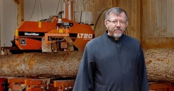 Monks use Wood-Mizer sawmill to restore 12th century Monastery in...